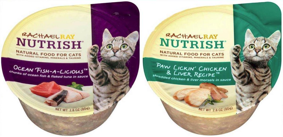 """""""Nutrish"""" cibo umido per gatti ritirato per i livelli elevati di vitamina D"""