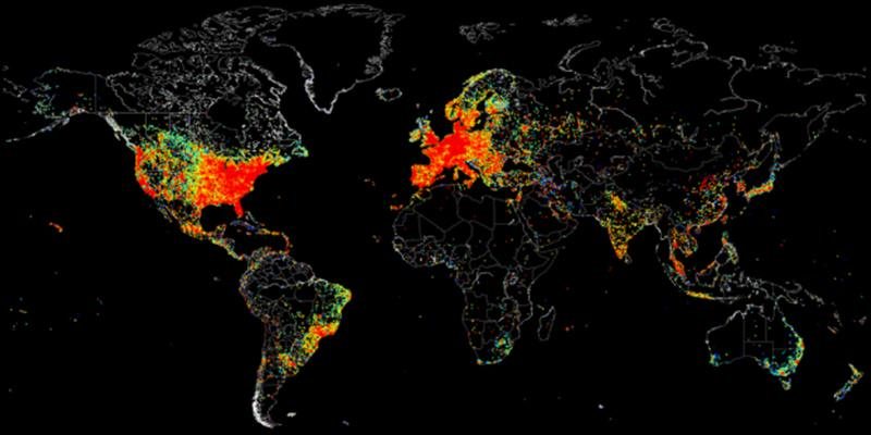 The world of IoT is unevenly distributed... http://t.co/oYX8SocPvC