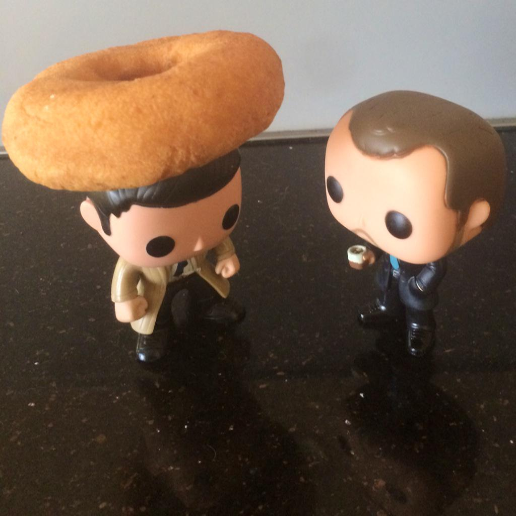 """.@OriginalFunko """"That's a donut not a halo, you half-wit angel."""" #HappyNationalDonutDay http://t.co/0KnPEmyW4D"""