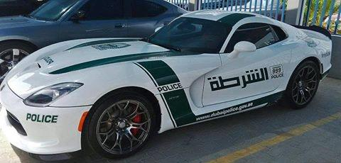 """Cop Car For Sale >> ProDriver on Twitter: """"Finally,@Dodge #Viper became a cop car for #Dubai police in #UAE for 1st ..."""