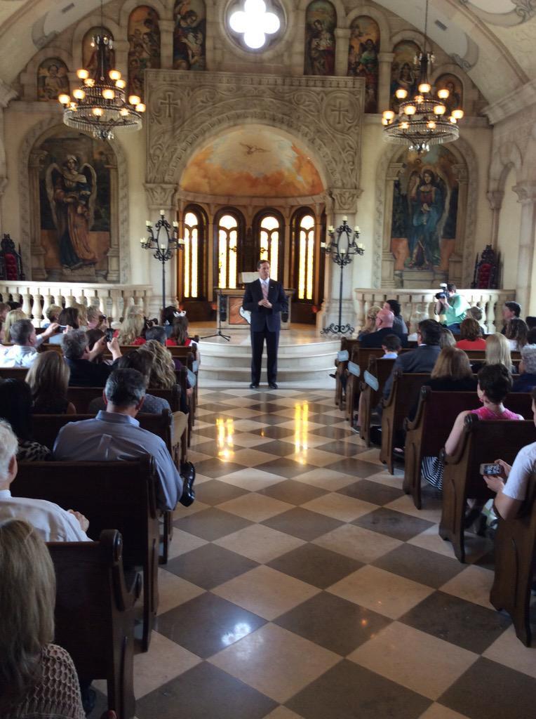 Listening to @RickSantorum talk about ISIS and Radical Islam #Rick2016  in McKinney, Texas http://t.co/3a5I3ezLuu
