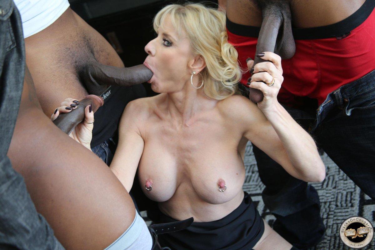 milf gang bang horny lady