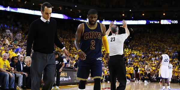 BREAKING: Cavs PG Kyrie Irving will miss rest of NBA Finals with a fractured left kneecap.