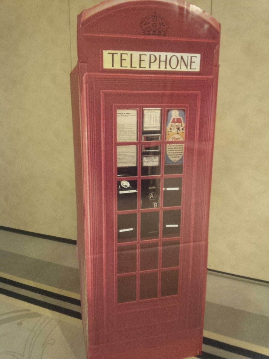 @LEMCStoppers showcasing #London tonight. Phone booth can always call 1-800-222-8477 @ CrimeStoppersOT #OACS2015 http://t.co/u2qC0kYr9b