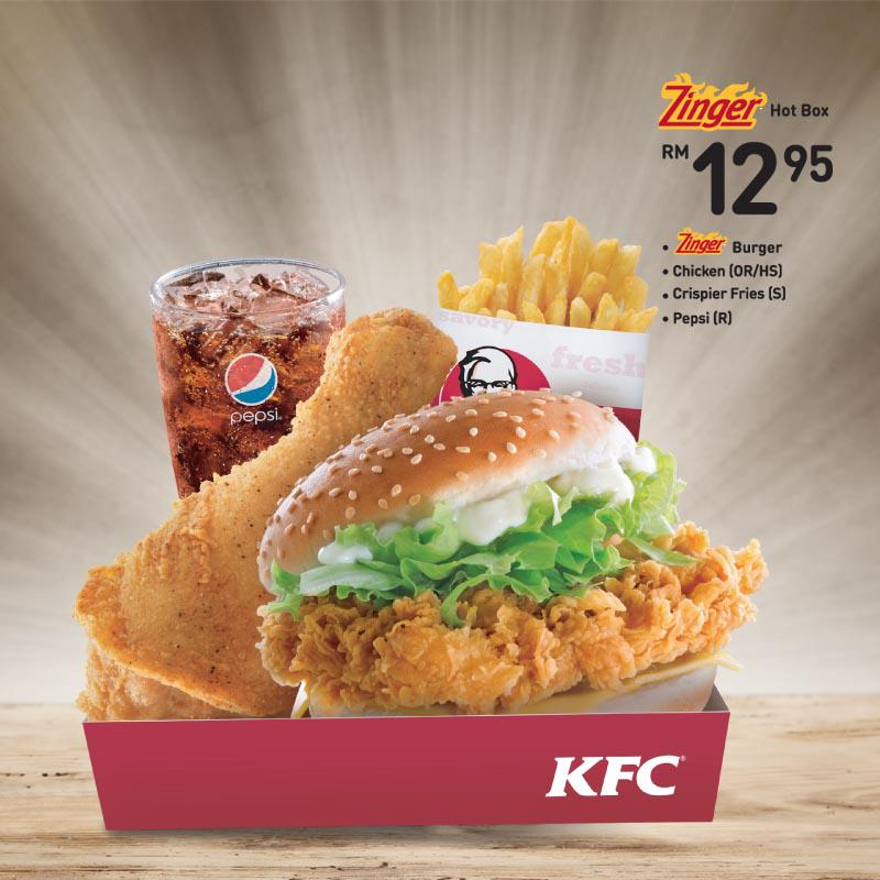 Kfcmalaysia On Twitter Tweet Us Your Fav Zinger Hot Box Items A