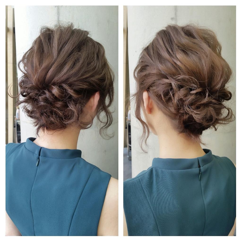 ミディアムアレンジ★/au,be 表参道店の髪型・ヘアスタイルカタログ