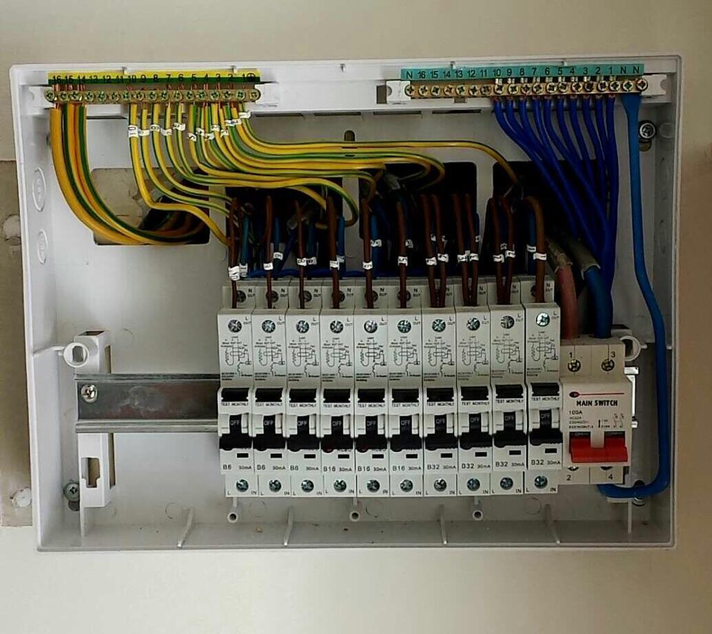 cts electrical on twitter upgraded 30ma rcd consumer unit in rh twitter com Consumer CB Wylex Consumer Unit