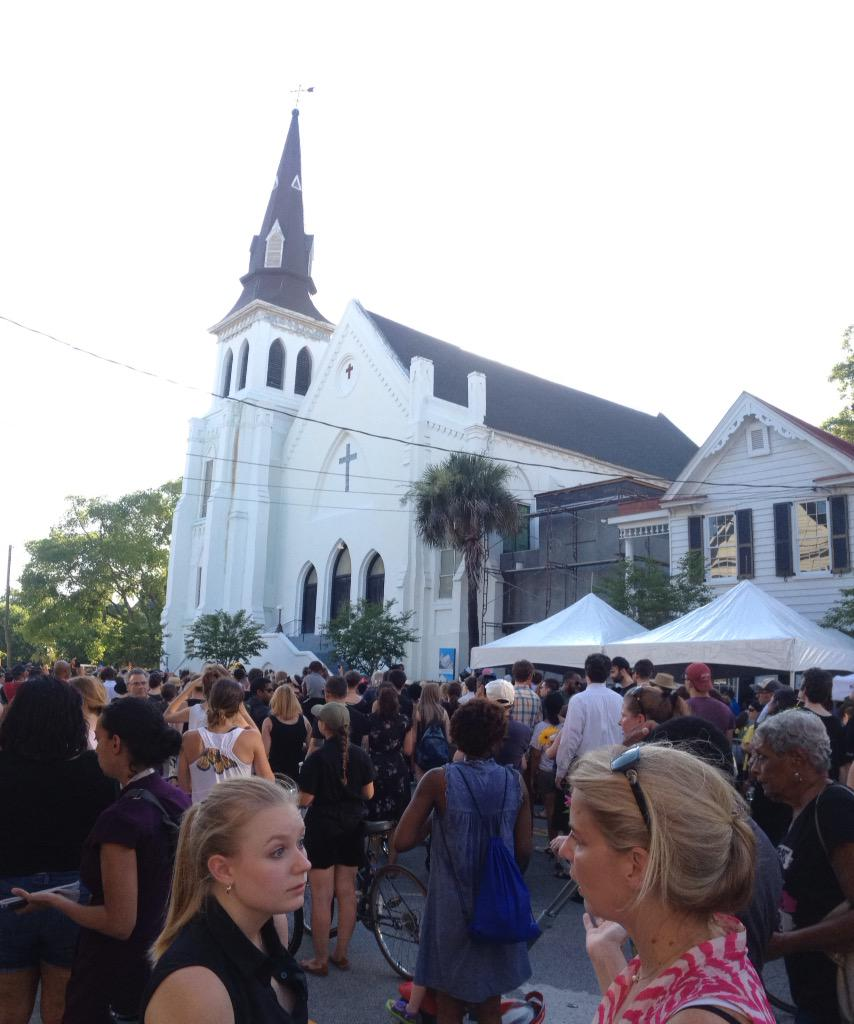 Nine People Killed in Charleston Church Shooting; Massacre Suspect Dylann Storm Roof Arrested CH-mUrJUsAANE-P