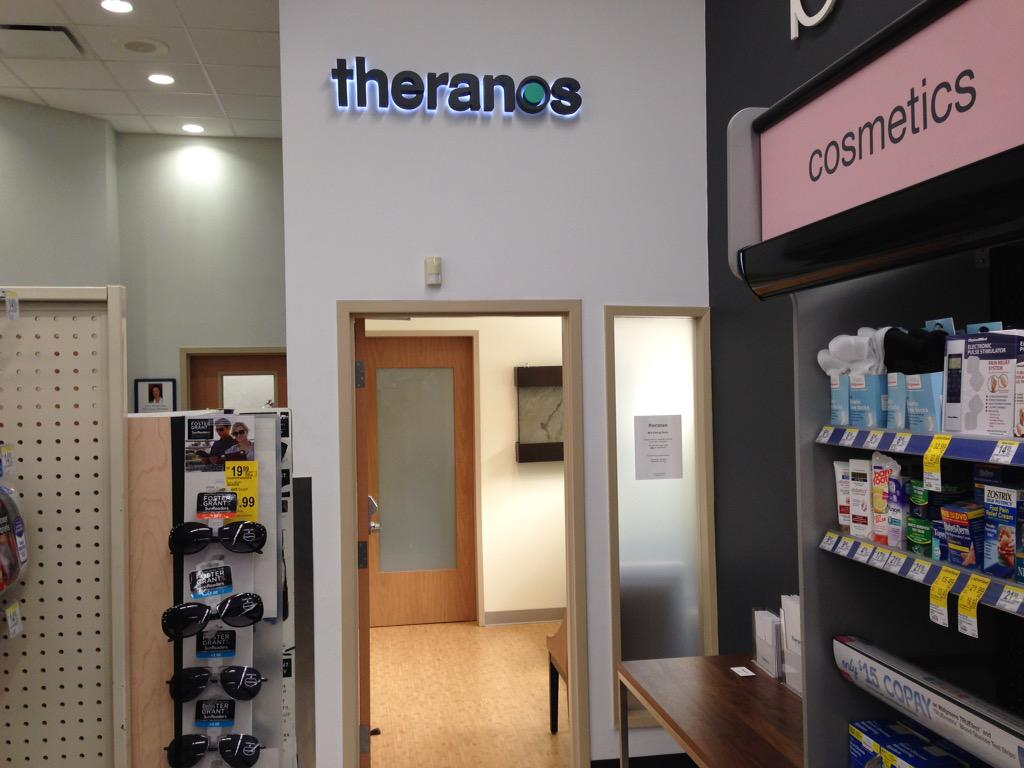 Douglas Bruce On Twitter Theranos Wellness Center At The