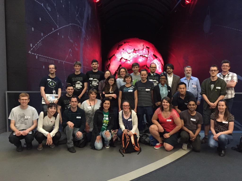 Biodiversity Hackathon delegates