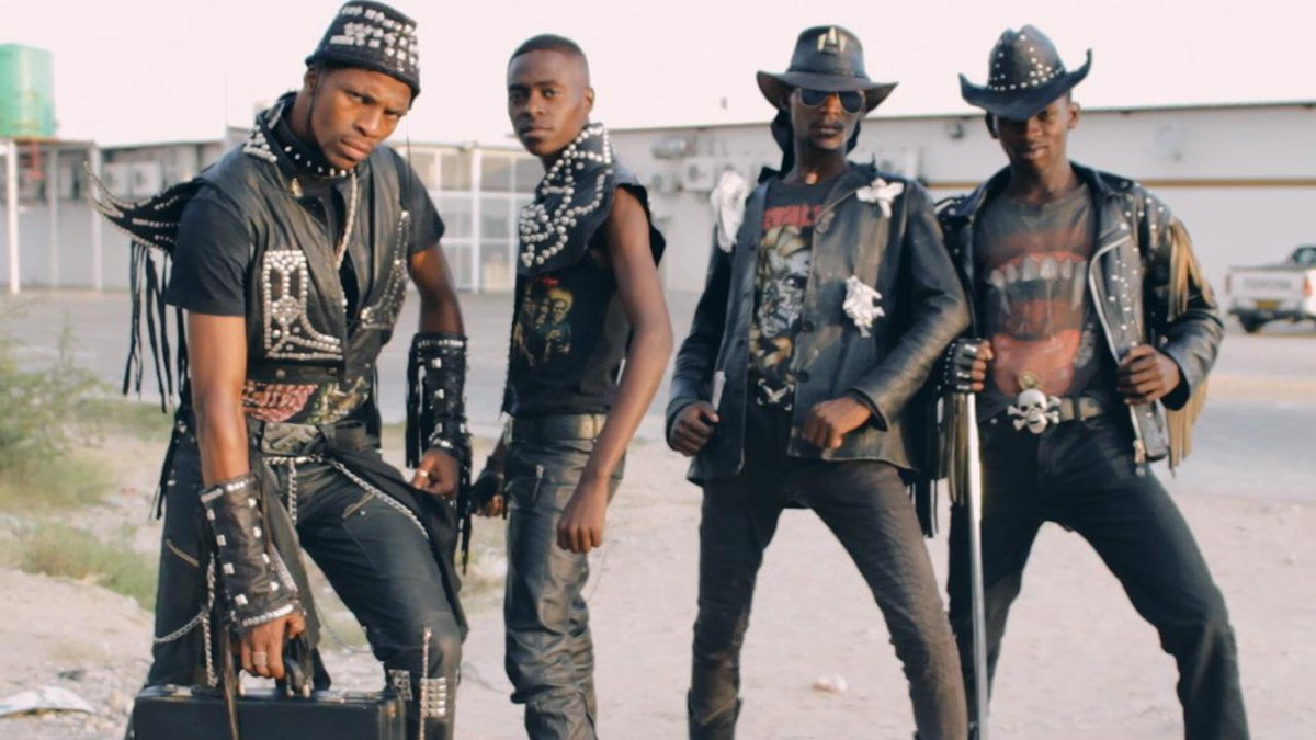 Did you know that there's a DEATH METAL COWBOY scene in Africa? Check it out, it's amazing: http://t.co/0QH1oMhzg8 http://t.co/uJYj0d7yRn