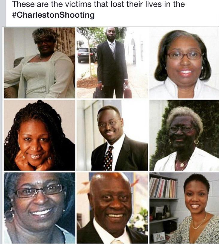 RIP to all 9 of them in the #CharlestonShooting
