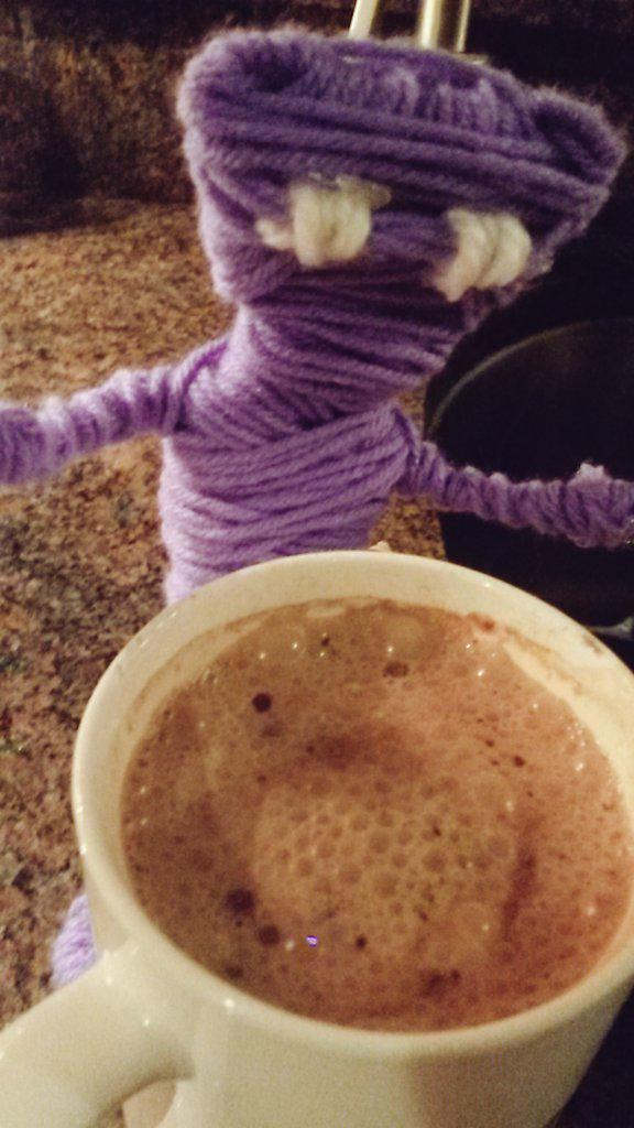 Made yarny som hot choco http://t.co/7gTFbM5g9a