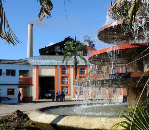 Un reloj de azúcar en Camagüey