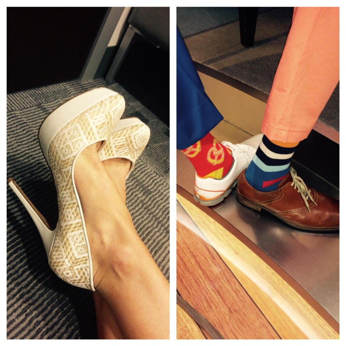 Happy #FunShoeFriday! (Credit- @CharlesDavidCA shoes) or...#FunSOCKFriday for @ChrisDiMarco and @damonhackGC<br>http://pic.twitter.com/YzkqxoDbOZ