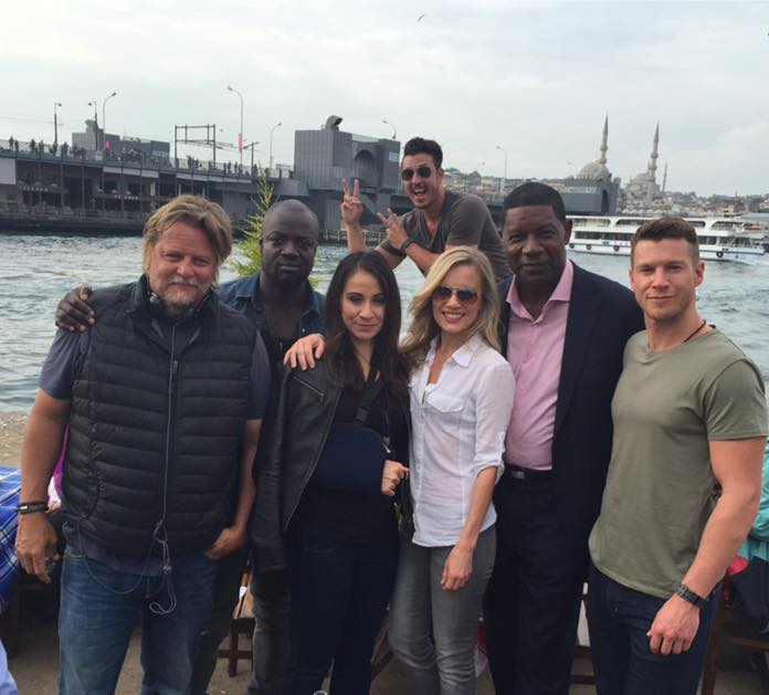 Amazing cast of #Sniper6KillShot  #Istanbul #SonyPictures #MoskitosFilms @CollinsChadM @21rock175 #ChadMichaelCollins http://t.co/ozIW3gZgzs