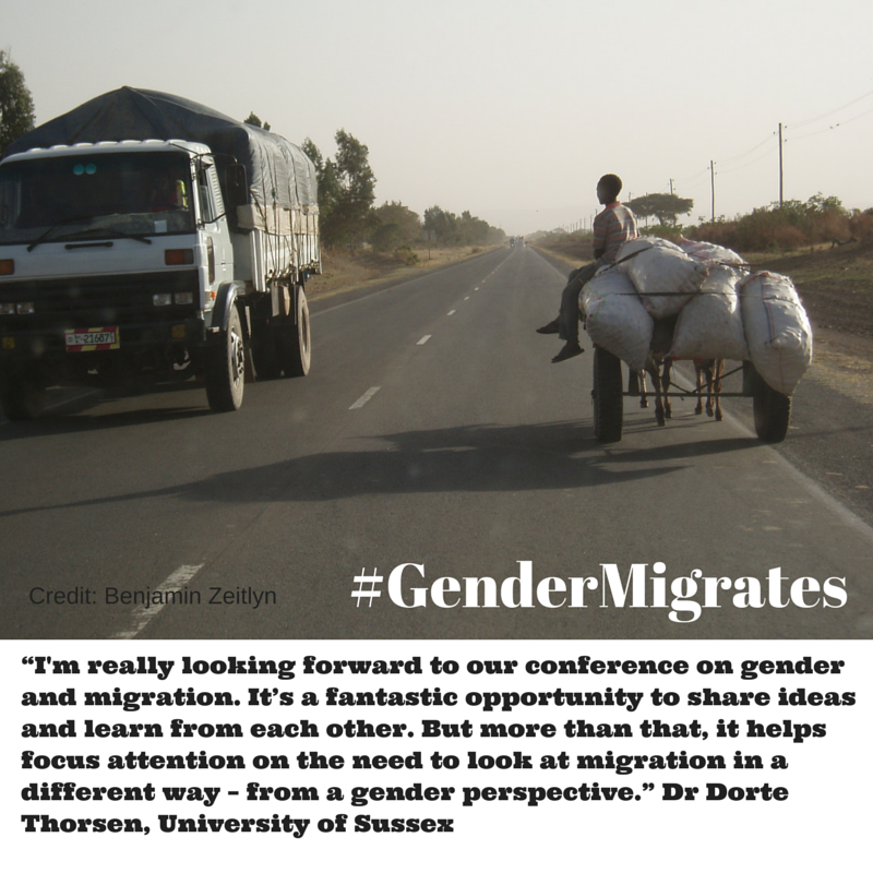 #GenderMigrates Follow the # for more on our conference on #gender and #migration http://t.co/9MHq3i8iIN