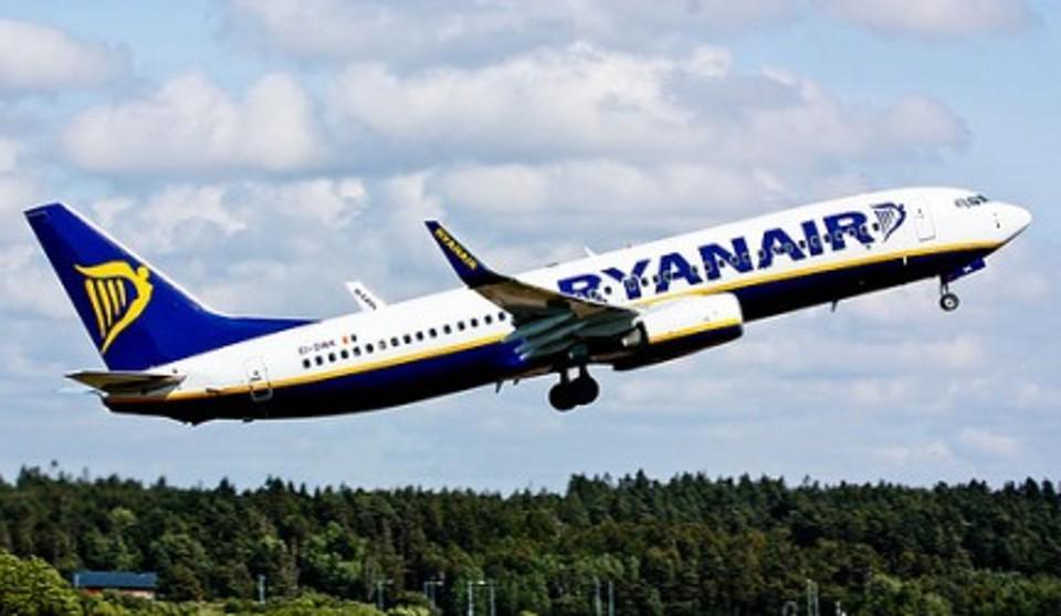 FOTO dal sito di Ryanair.com