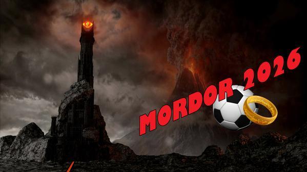 Mordor release video for World Cup 2026 bid. (done for @Huffpostukcom) http://t.co/kD0TQHH2s7 http://t.co/ZAJ7FrXrRI