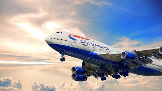 Pranzo con Coldplay, dessert con Madonna. Colonna sonora dei pasti dei voli aerei British Airways