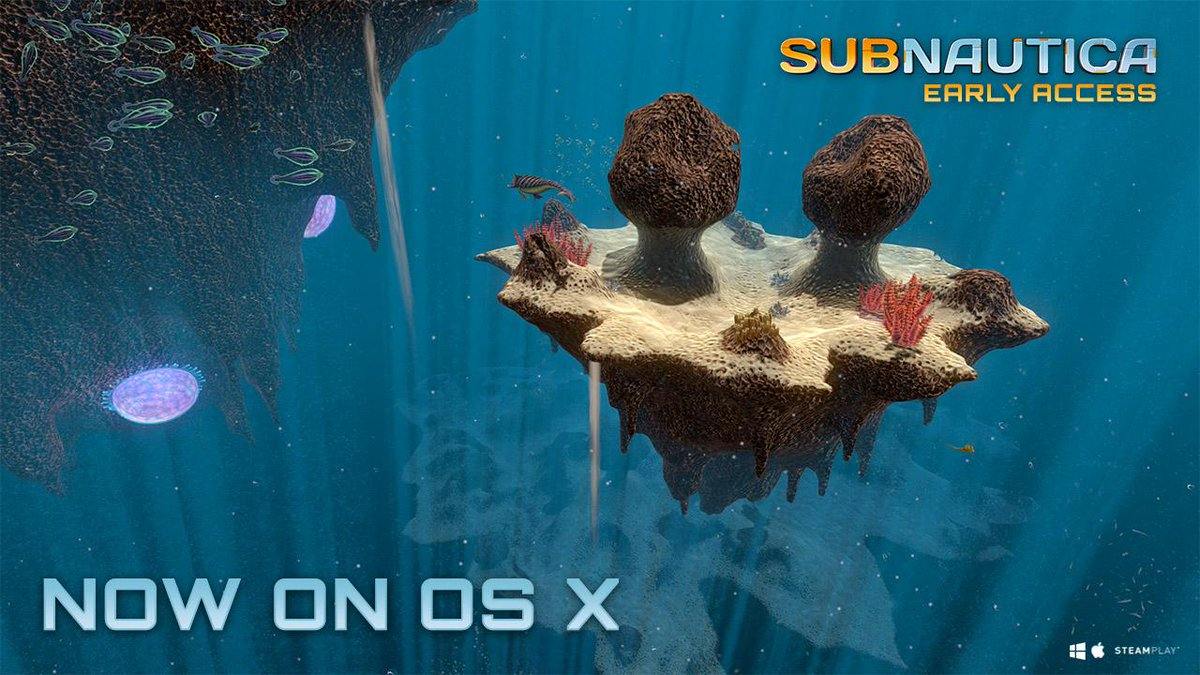 Subnautica Is Now Available For Le Osx Floating Islands Sp Reef Repulsion Cannon Http Unknownworlds Update Released