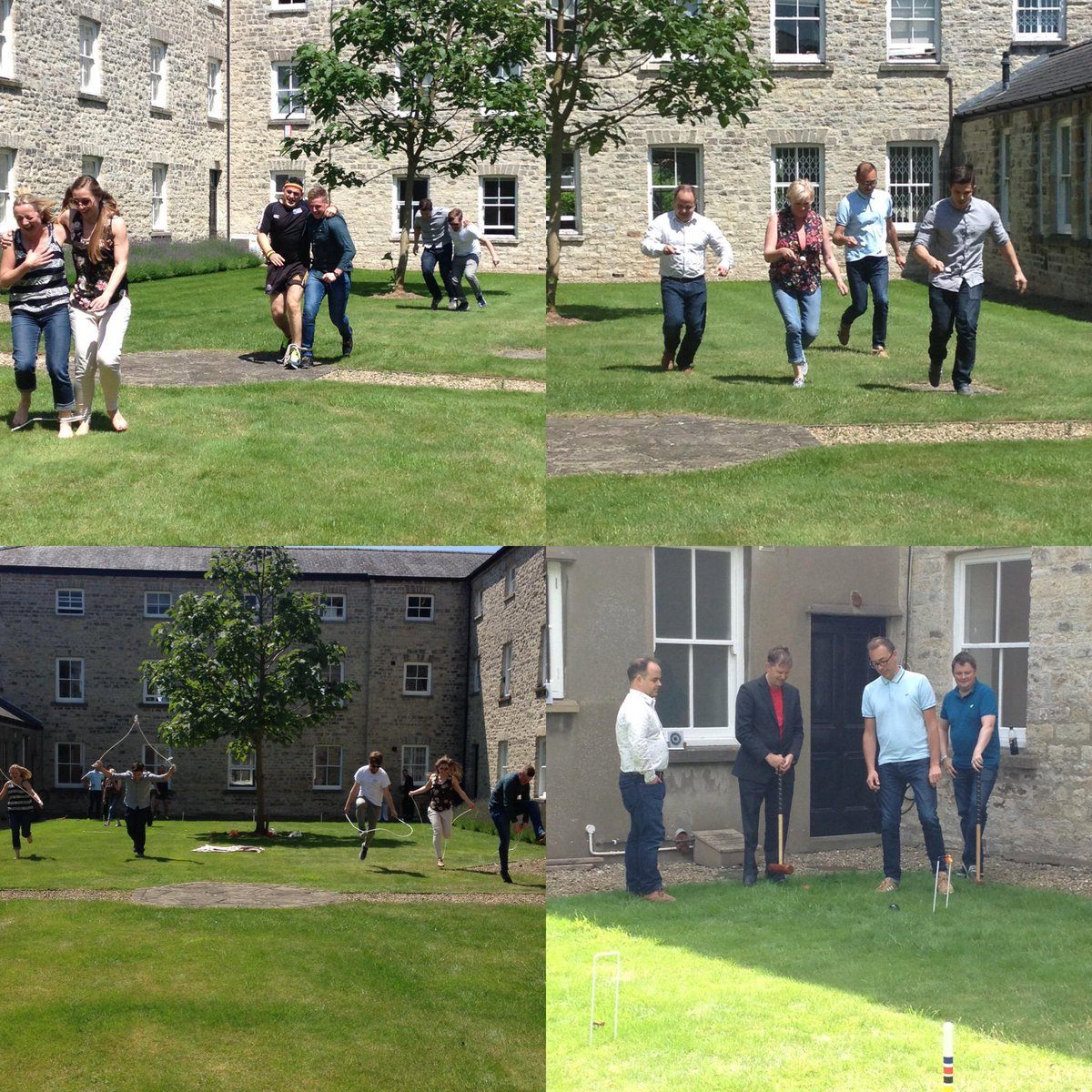 Thanks @kubiakbristol for joining our #businessgreenweek #sportsday - nobody got competitive..... #lovethefuture http://t.co/ARrK8RB1GO