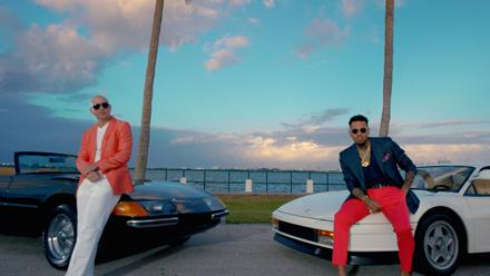 Miami Vice #FUN ft. @ChrisBrown official video now on @VEVO! #MrWorldwide http://t.co/F0wCnDy3mz