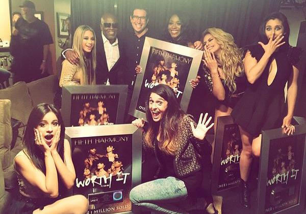 Couldn't be prouder and happier for @FifthHarmony and @Janelly333 and the entire team et @Epic_Records @syco hard wrk http://t.co/qwNYRF47fJ