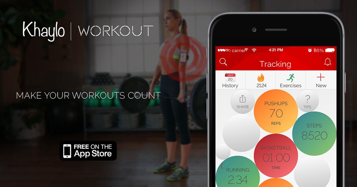 app Khaylo workout running mesure