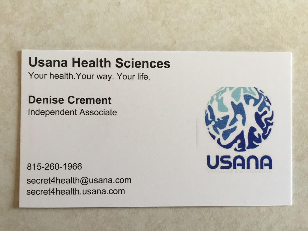 Funky Usana Business Cards Composition - Business Card Ideas ...