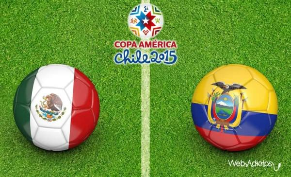 Messico-Ecuador Rojadirecta Streaming Calcio Diretta TV Coppa America Cile 2015
