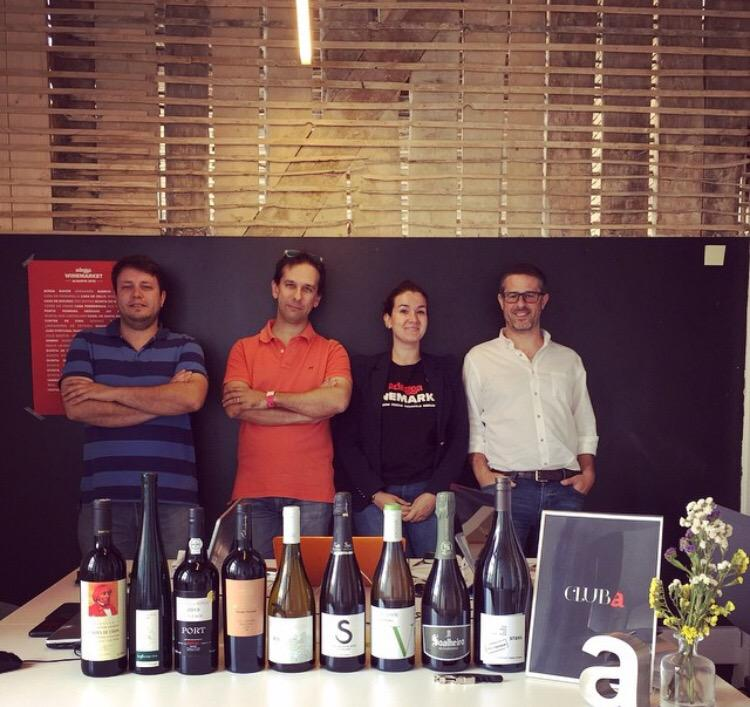 We welcome @AdeggaPT to the WorkHub! These young entrepreneurs are changing the wine business and we love it! http://t.co/Eou4E1AVXL