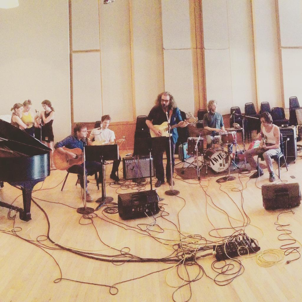 We had Dawes, My Morning Jacket, and Joseph recording together at the Waverly Stopover today. Can't wait to share. http://t.co/6LrQMyYvaX