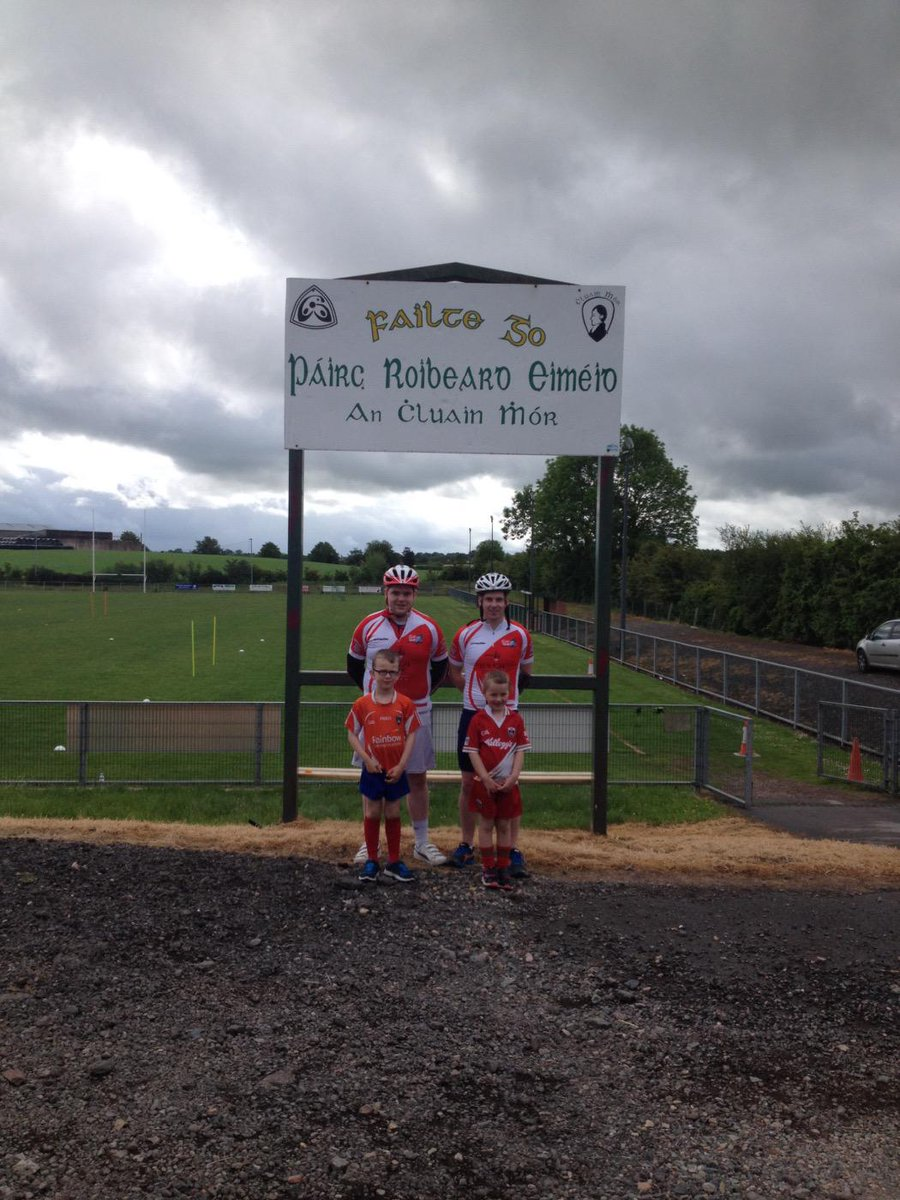 """Roisin McAliskey on Twitter: """"@clonmore @bike1630 Great to have ..."""