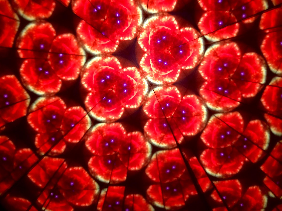 Kaleidoscope made of @HUBBLE_space #tiles @ChabotSpace #mathphoto15 http://t.co/yPzmAdVG0I