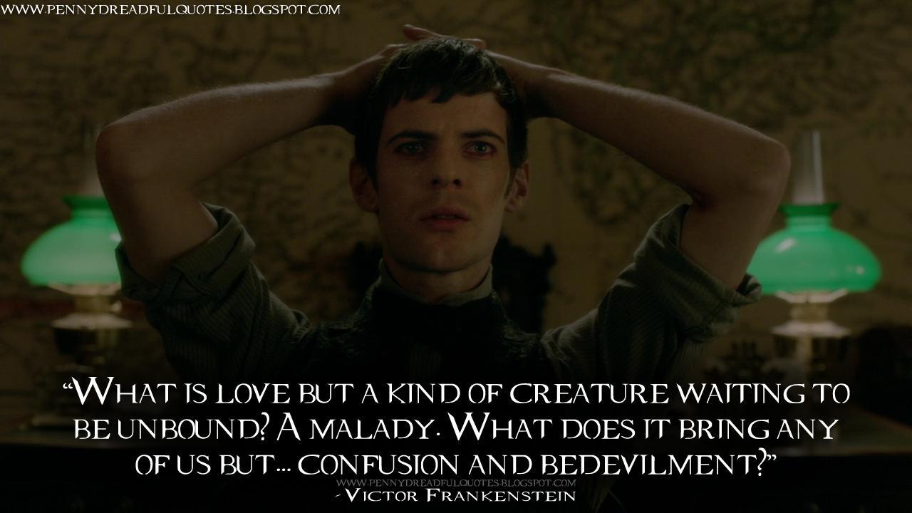"Victor Frankenstein Quotes Entrancing Pennydreadful Quotes On Twitter ""victor Frankenstein What Is"