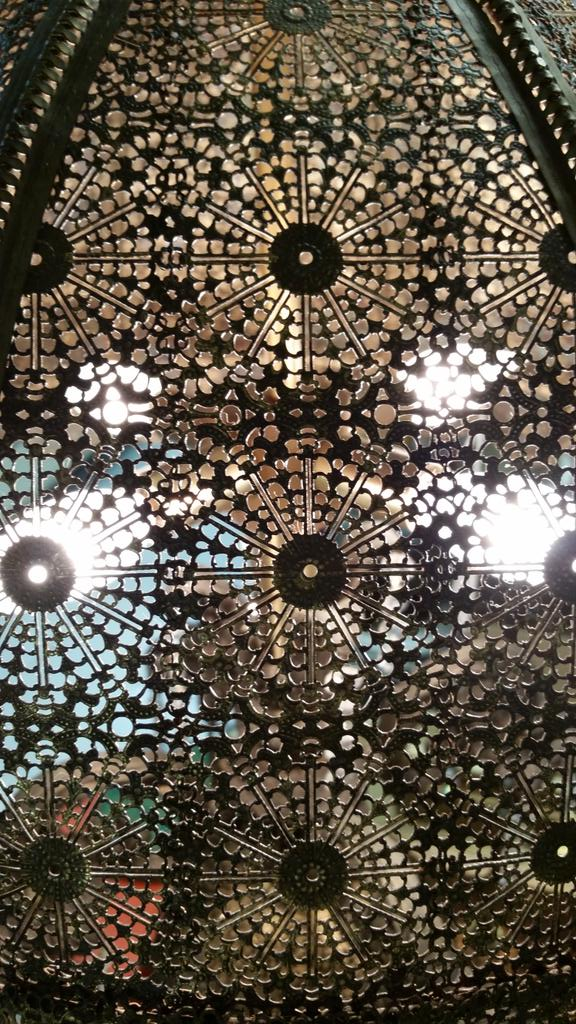 #mathphoto15 #tiles metal lampshade http://t.co/wolzZ5y9X9