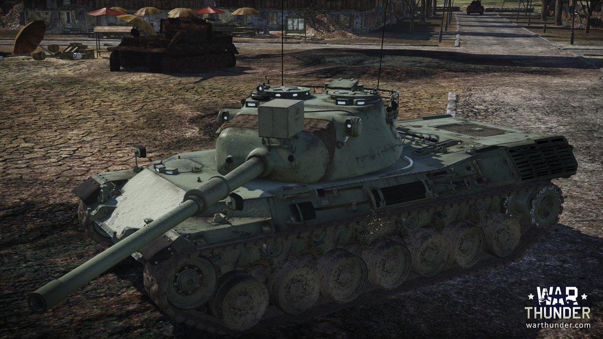 Leopard 1 war thunder gameplay trailers