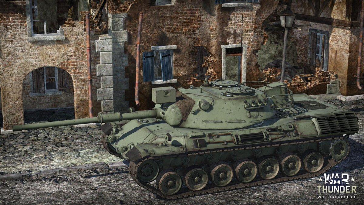 Leopard 1 war thunder gameplay pc hd video
