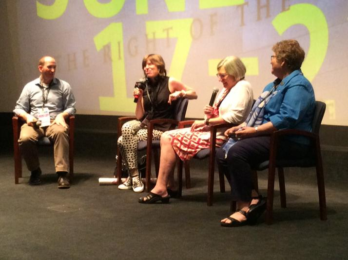 Great @RadGraceFilm post screening discussion with @sr_simone and @RebAPar http://t.co/N7lfdQtzQ4