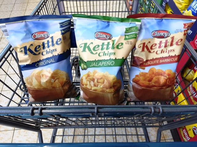 Aldi's Kettle Chips, better than almost all name brands : aldi