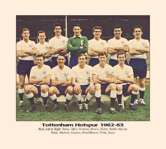 "Spurs First Team Players Squad: Spurs Nostalgia On Twitter: ""Tottenham Hotspur 1962-63"