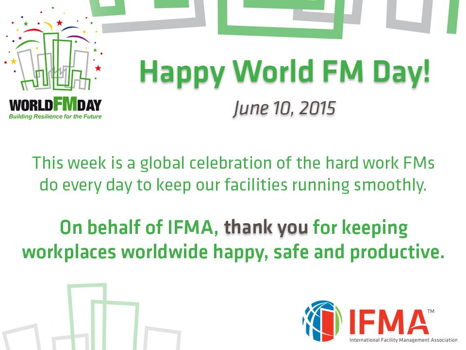 This year, #WorldFMDay spans entire week — more time to celebrate FMs! Join the festivities: http://t.co/LMkRLH88aK http://t.co/jxoyY9Na6S