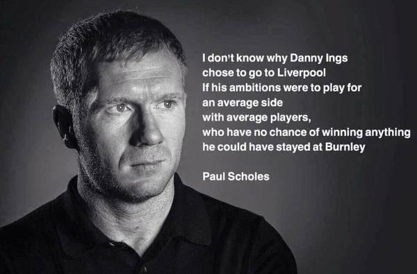 Actually LoLing! Paul Scholes = no fucks given. http://t.co/DJwS5ZTXyL