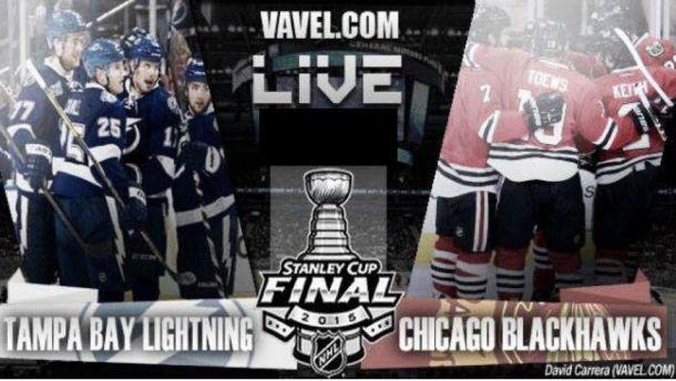 Tampa Bay Lightning Vs Chicago Blackhawks Live Stream Updates And Score Of NHL Stanley Cup… http://t.co/XqZoAITKkm http://t.co/wprVVPfG9P