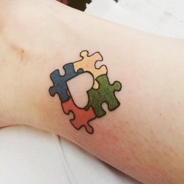 Autism Speaks On Twitter A Creative Tattoo Liub Autism