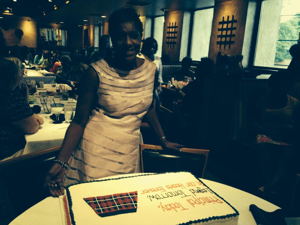 Happy Retirement to Vivian Taylor Samudio-starting as special ed teacher to principal of Rangel Young Women's HS! http://t.co/dX0DRHARtu