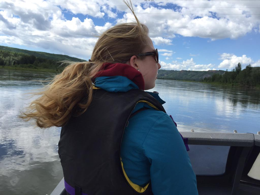 Jet boating on the Peace River #BCHCRS15 http://t.co/JJQsGf2bFo