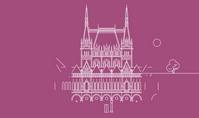 #High-tech visions of #Budapest landmarks --> buff.ly/1MDUav7