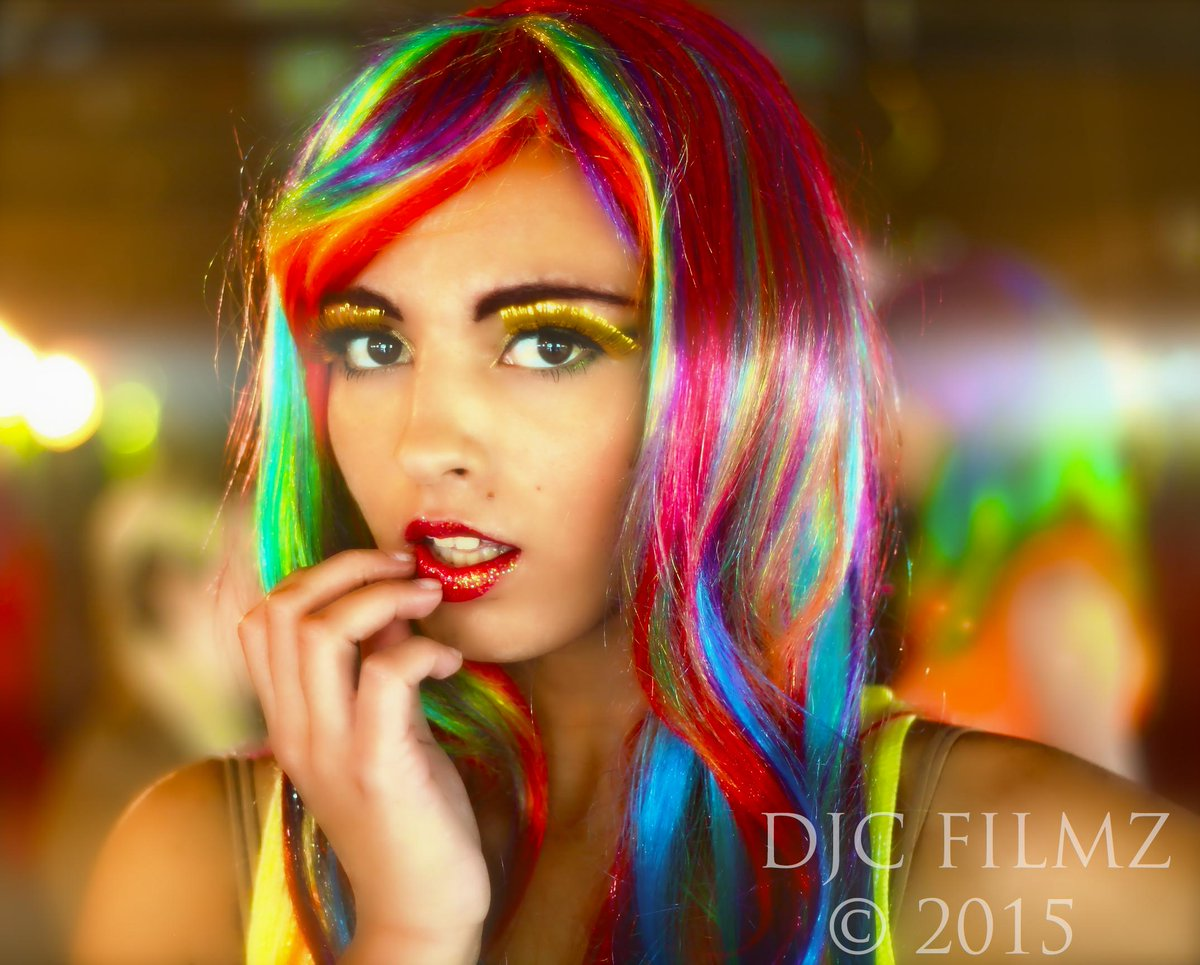 One of my most favorite photos of this beautiful lady. #rainbowgirl #djcfilmz